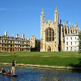 The west end of King's College Chapel seen from The Backs