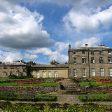 Allestree hall taken from the pond