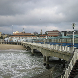 View from Bournemouth Pier, Bournemouth.