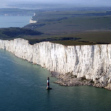 Beachy Head, East Sussex, England.