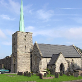 St Peter's parish church, Filton, Gloucestershire, seen from the south