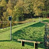 : Dam between reservoirs Worthington Lakes