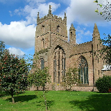 The priory church of St. Peter and St Paul, Leominster