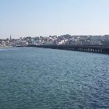 Ryde, Isle of Wight, seen from Ryde Pier Head.