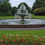 Central Park fountain, Scunthorpe