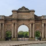 The Grand Entrance to Birkenhead Park, Grade II* listed.