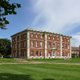 Radley Hall, Radley, Oxfordshire (formerly Berkshire), England, seen from the south west. Completed in 1727 as a country mansion. Since 1847 it has been the main building ('the Mansion') of Radley College.