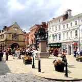 The Square, Shrewsbury, UK