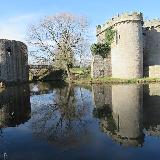 Whittington lake and castle, Shropshire
