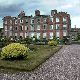 Weston Park, Weston-under-Lizard, Shropshire TF11 8LE Southern facade of Weston House, set in 1,000 acres of 'Capability' Brown parkland.