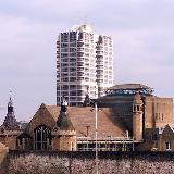 View of David Murray John Tower, Swindon