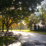 Duthie Park Near the entrance from Polmuir Road. The childrens' play area is to the left.