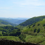 Looking towards Abertillery from the head of the Tyleri