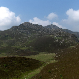 Creigiau Gleision, seen from the south