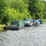 Monmouthshire and Brecon Canal in Pontypool