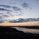 St Mary's Alaska - Sunrise over the Andreafsky River
