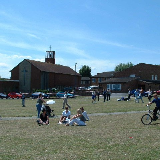 Glencoyne Square - Southmead. A peaceful day at the local summer fair in one of Bristol's less privileged suburbs.
