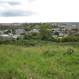 Novers Common, Knowle West, Bristol. Looking towards Bedminster Down