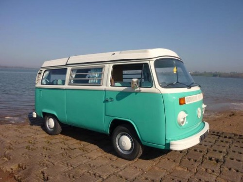 A VW T2 Classic Campervan called Bluebell-Campervan-Devon and Bluebell 7 for hire in exmouth, Devon