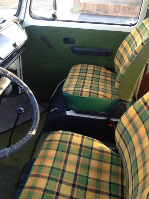 Restored seats
