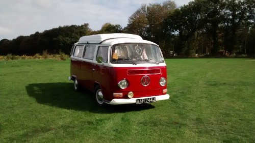 A VW T2 Classic Campervan called Poppy71 and Poppy for hire in norwich, Norfolk