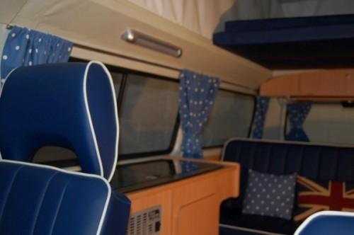 Mr Blue Sky Interior brand new upholstery.