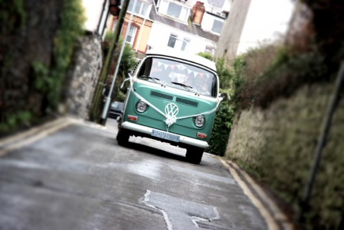 A VW T2 Classic Campervan called BillyBay and Billy bay for hire in sketty, Swansea