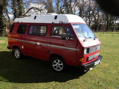 A VW T3 Campervan called ValerieSuffolk and VALERIE for hire in bury st edmunds, Suffolk