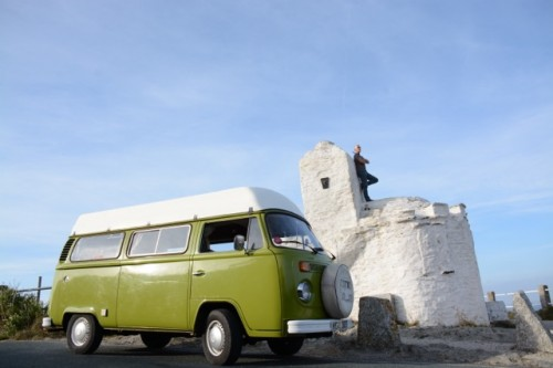 A VW T2 Classic Campervan called OliveSussex and cornwall for hire in lewes, East Sussex