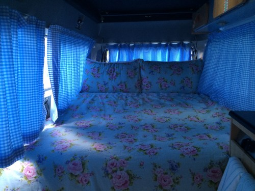 Barbara\'s double bed