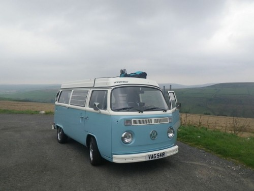 A VW T2 Classic Campervan called LittleGeorgie and Yorkshire for hire in hebden bridge, West Yorkshire