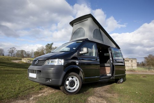 A VW T5 Campervan called Birchover and birchover conversion for hire in derby, Derbyshire