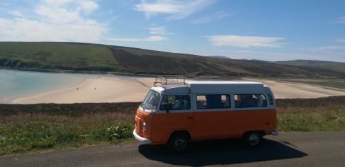 Sunny Orkney beach