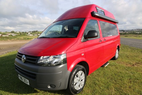 A VW T5 Campervan called Devon-Ruby and Ruby for hire in bideford, Devon