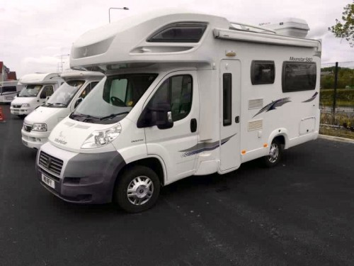 A Lunar Motorhome called Hugo and Hugo for hire in knutsford , Lancashire