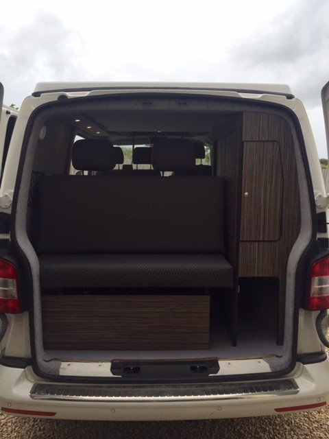 Rear seats and storage
