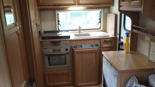 Kitchen 4 berth motor home
