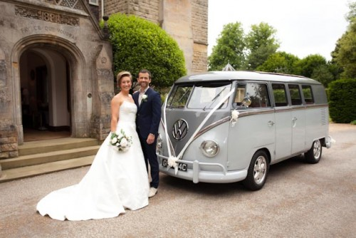 A VW T1 Splitscreen Campervan called Christian and Christian for hire in crowland, Cambridgeshire