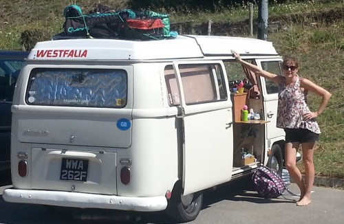 West coast of France, fully loaded.