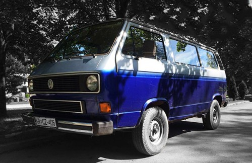 A VW T3 Campervan called Jaro and Stylish Jaro for hire in ljubljana, Slovenia