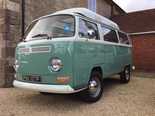 A VW T2 Classic Campervan called Taz and Taz for hire in gillingham, Dorset