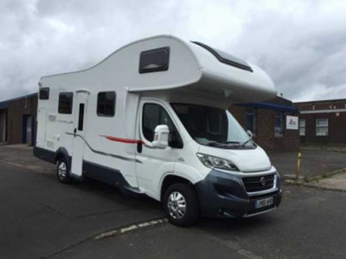 A Roller team Motorhome called RollerFiat and Front for hire in woodbridge, Suffolk
