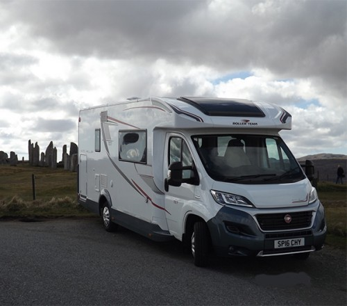 A Roller team Motorhome called Hebrides and Hebrides for hire in stornoway, isle of lewis, Western Isles
