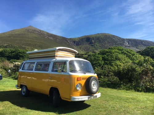A VW T2 Classic Campervan called Chucklebus and Saffron... for hire in derby, Derbyshire
