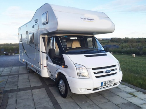 A Dethleffs Motorhome called Sunlight and Sunlight for hire in co. roscommon, Roscommon