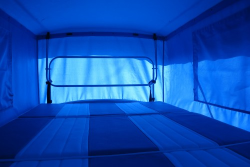 Bed in Pop up Roof