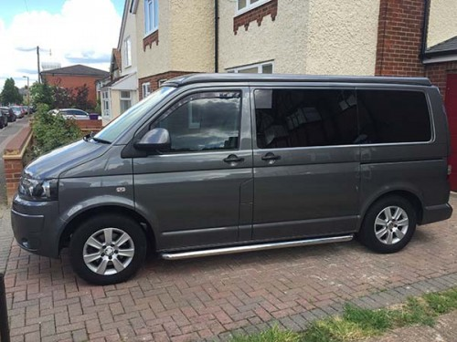 A VW T5 Campervan called Maple and Maple for hire