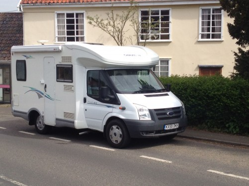 A Chausson Motorhome called ChaussonF2 and Easy to Park for hire in woodbridge, Suffolk
