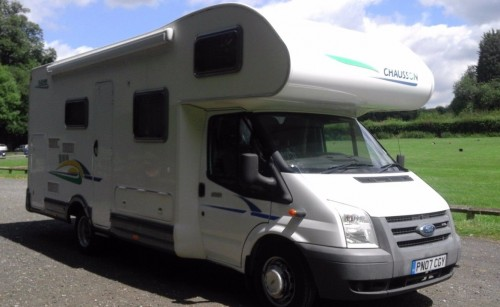 A OverCab Motorhome called Chausson09 and Chausson09 for hire in woodbridge, Suffolk