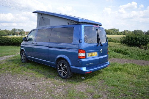 A VW T5 Campervan called Winston and Winston1 for hire in hove, East Sussex